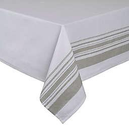 ED Ellen DeGeneres Myan Tablecloth in White