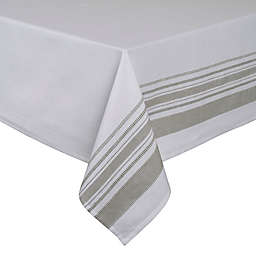 ED Ellen DeGeneres Myan Tablecloth in White