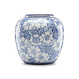 Lenox® Painted Indigo™ Floral 6.5-Inch Round Vase