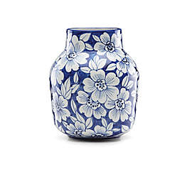 Lenox® Painted Indigo™ Floral 7-Inch Tapered Vase