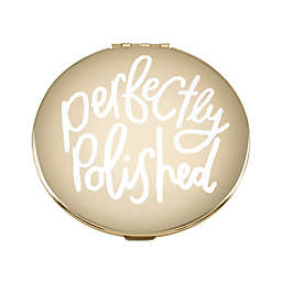 kate spade new york All that Glistens™ Compact Mirror in Rose Gold