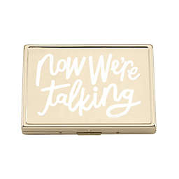 kate spade new york All that Glistens™ ID Holder in Gold