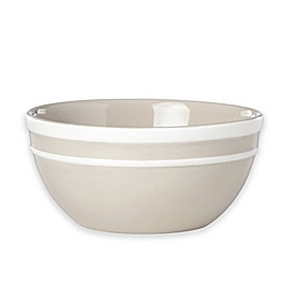 kate spade new york All in Good Taste Sculpted Stripe™ Beige All Purpose Bowls (Set of 4)