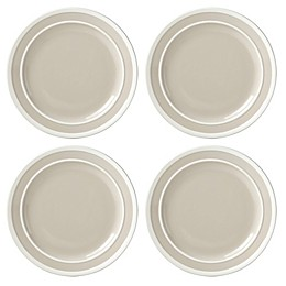 kate spade new york All in Good Taste Sculpted Stripe™ Beige Dinner Plates (Set of 4)