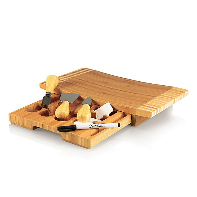 Alternate image 1 for Picnic Time® Concavo Cheese Board & Tools Set
