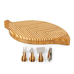 Picnic Time® Leaf Cheese Board & Tools Set