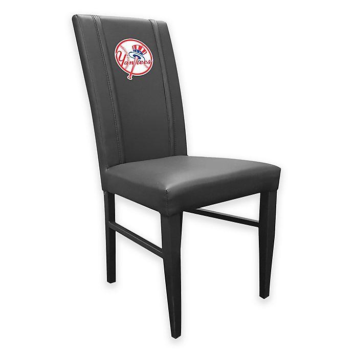 Alternate image 1 for MLB New York Yankees Alternate Logo Upholstered Side Chair