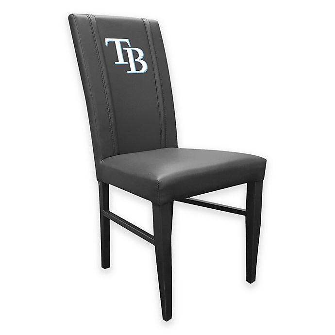 Alternate image 1 for MLB Tampa Bay Rays Alternate Logo Upholstered Side Chair