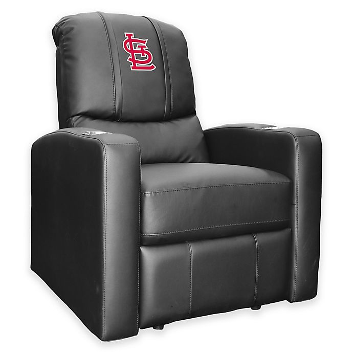 Alternate image 1 for MLB St. Louis Cardinals Stealth Recliner in Black