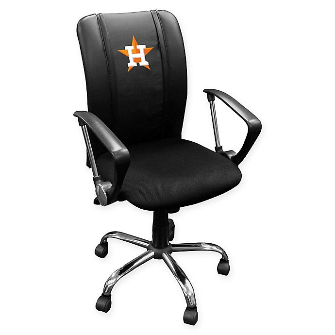 Alternate image 1 for MLB Houston Astros Alternate Logo Curve Task Chair