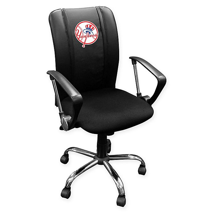 Alternate image 1 for MLB New York Yankees Alternate Logo Curve Task Chair