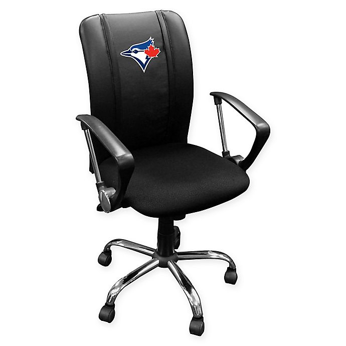 Alternate image 1 for MLB Toronto Blue Jays Alternate Logo Curve Task Chair
