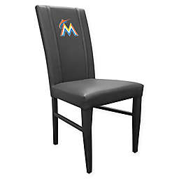MLB Miami Marlins Side Chair 2000 in Black