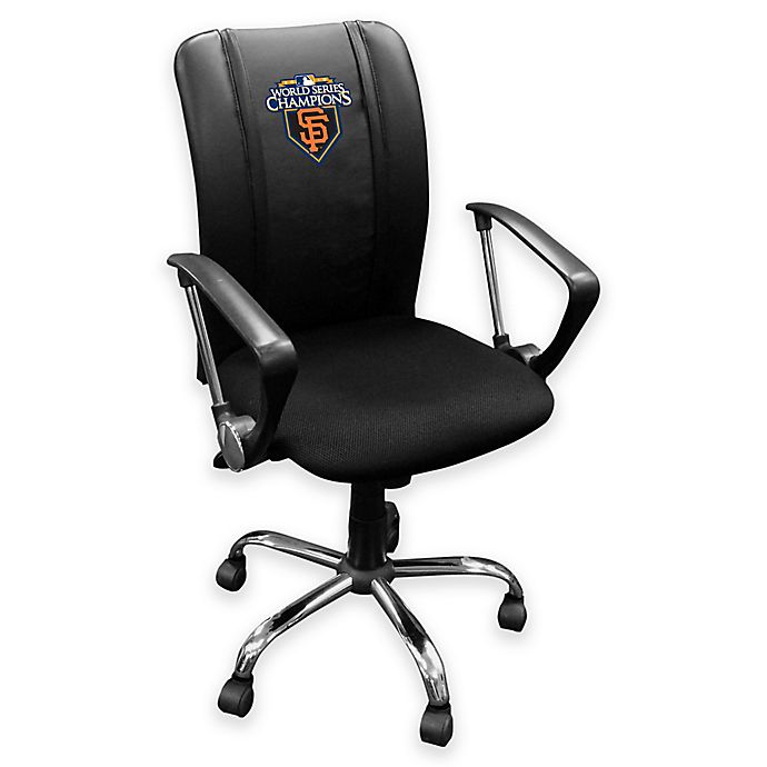 Alternate image 1 for MLB San Francisco Giants 2010 Championship Logo Curve Task Chair