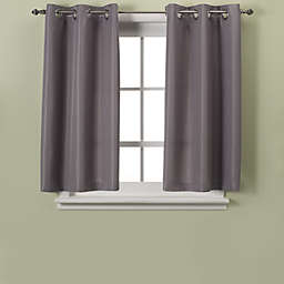 Hookless® Waffle 45-Inch Bath Window Curtain