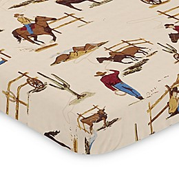 Sweet Jojo Designs Wild West Mini Crib Sheet