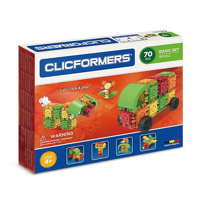 Alternate image 1 for Clicformers 70-Piece Kid's Basic Set