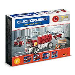 Clicformers® 70-Piece Rescue Building Set