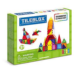 Tileblox Rainbow 42-Piece Set