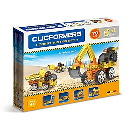Clicformers® 70-Piece Construction Building Set