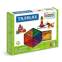 Tileblox Rainbow 30-Piece Set