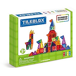 Tileblox Rainbow 104-Piece Set