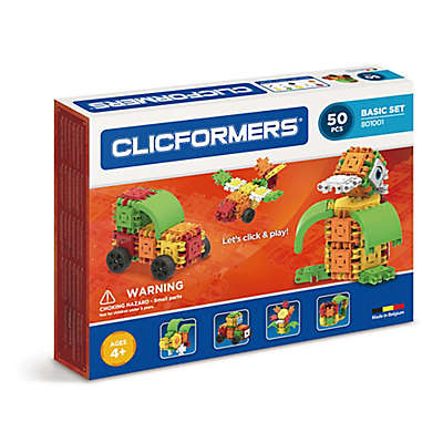 Clicformers® 50-Piece Basic Building Set