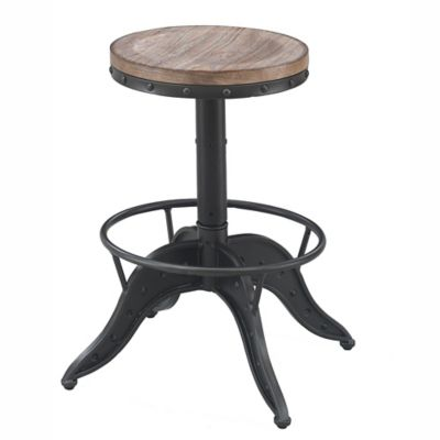 American Woodcrafters Metal Swivel Sona Bar Stool Bed