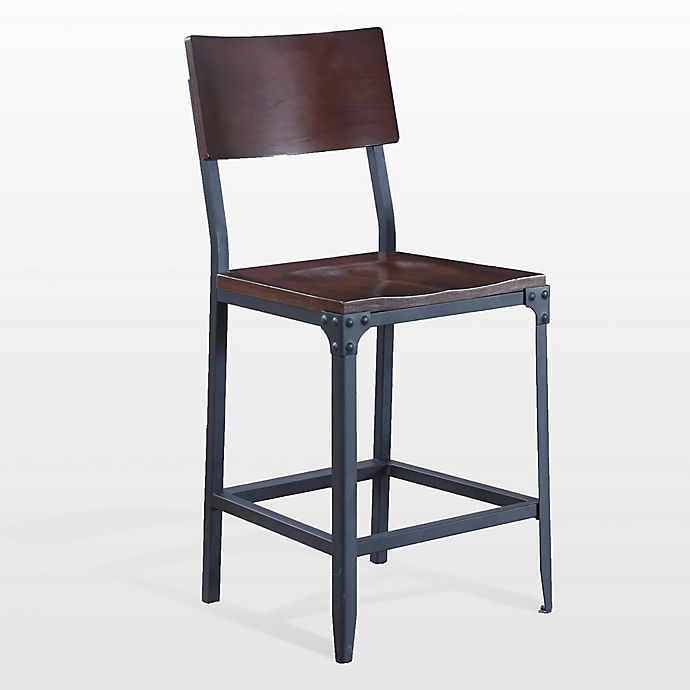 Alternate image 1 for American Woodcrafters Metal Austin Bar Stool