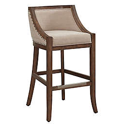 American Woodcrafters Michelle 26-Inch Bar Stool in Brown