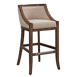 American Woodcrafters Michelle Bar Stool in Brown