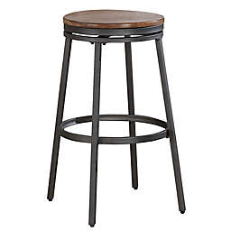 American Woodcrafters Stockton 30-Inch Bar Stool in Slate Grey