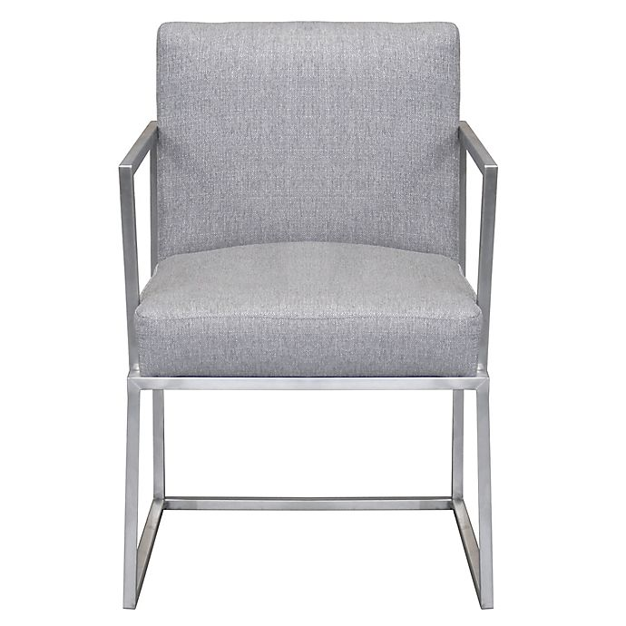 Alternate image 1 for Armen Living® Warwick Dining Chair in Grey