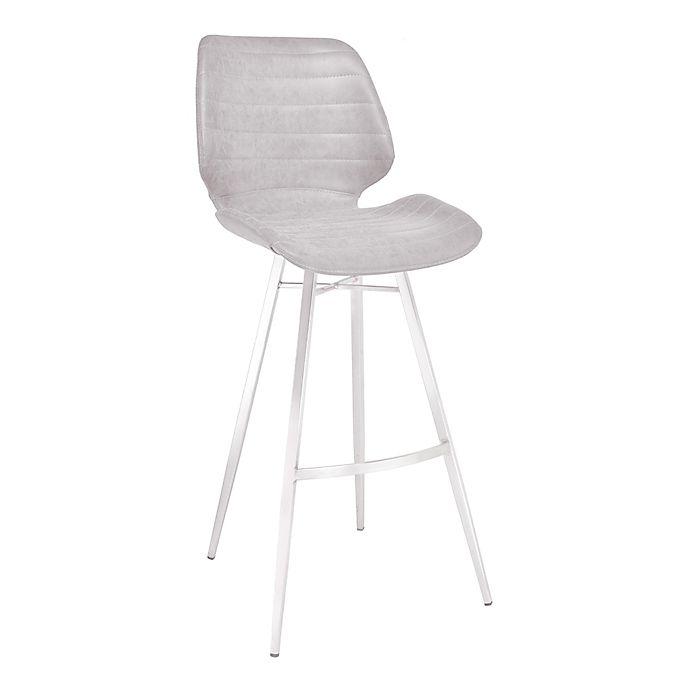 Alternate image 1 for Armen Living® Faux Leather Upholstered Valor Bar Stool