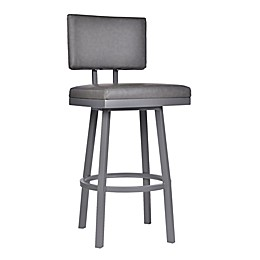 Armen Living® Faux Leather Upholstered Balboa Bar Stool