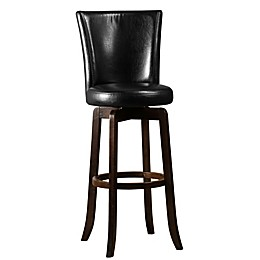 Hillsdale Furniture Faux Leather Swivel Copenhagen Bar Stool