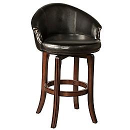 Hillsdale Furniture Wood Swivel Dartford Bar Stool