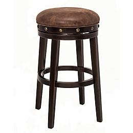 Hillsdale Furniture Wood Swivel Benard Bar Stool