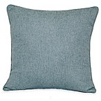 Jasper Square Throw Pillow in Mineral