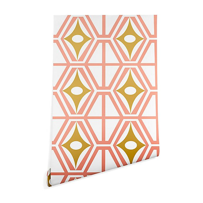 Alternate image 1 for Deny Designs Heather Dutton Metro Fusion 2-Foot x 4-Foot Wallpaper in Pink