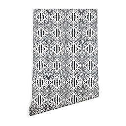 Deny Designs Holli Zollinger Carribe Wallpaper in Black