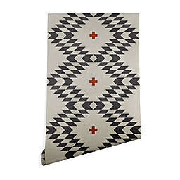 Deny Designs Holli Zollinger Native Natural Plus Wallpaper in Grey