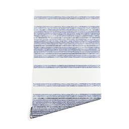 Deny Designs Holli Zollinger Capri Stripes Wallpaper in Blue