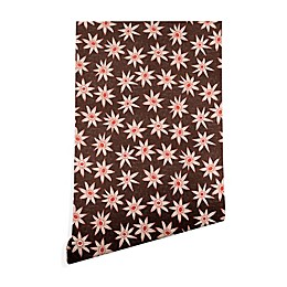 Deny Designs Sharon Turner Sema Wallpaper in Brown