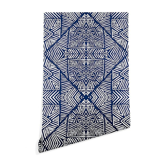 Alternate image 1 for Deny Designs Marta Barragan Camarasa 2-Foot x 4-Foot Wallpaper in Indigo
