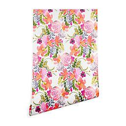 Deny Designs Ninola Design Flowers Sweet Bloom Wallpaper in Pink