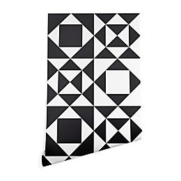 Deny Designs Heather Dutton Rhythm Wallpaper in Black