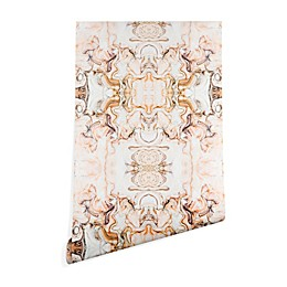 Deny Designs Marta Barragan Camarasa Pink Marble Peel and Stick Wallpaper