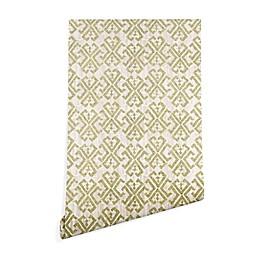 Deny Designs Schatzi Brown Justina Criss Cross Peel and Stick Wallpaper