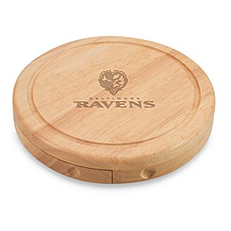 Picnic Time® NFL Baltimore Ravens Brie Cheese Board Set